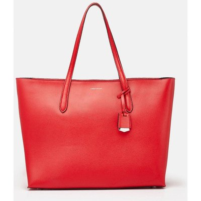 Karen Millen TextuTote Bag, Red