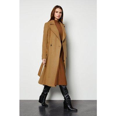 Belted  Coat Camel, Camel