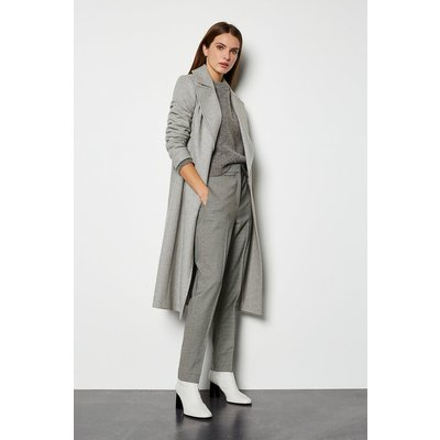 Belted  Coat Grey, Grey