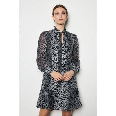 Karen Millen Leopard Print Dress, Multi