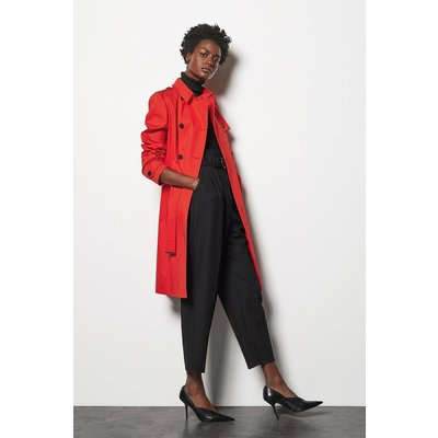 Trench Coat Red, Red