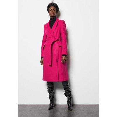 Notch Coat Pink, Pink