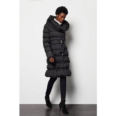 Puffer Coat Black, Black