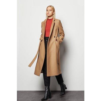 Notch Collar Coat Camel, Camel