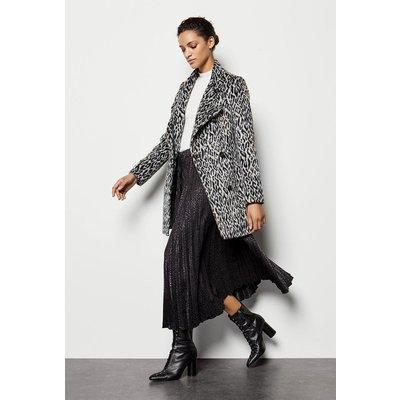 Wrap Coat Leopard, Leopard