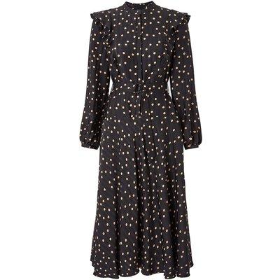 Scattered Dot On Stripe Dress Multi, Multi