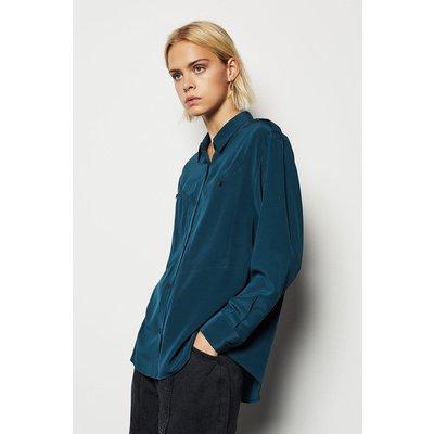 Karen Millen Military Shirt, Blue