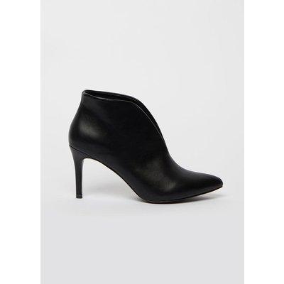 Black High Heel Shoe Boot