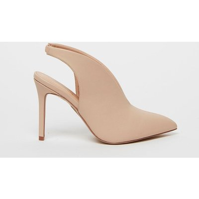 Nude Slingback Shoe Boot