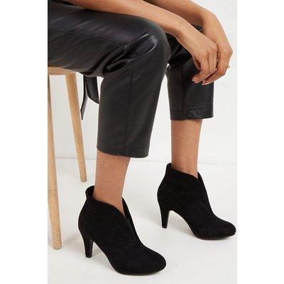 Amuse Black Elastic Gusset Shoe Boot