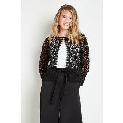 Lace Layering Jacket