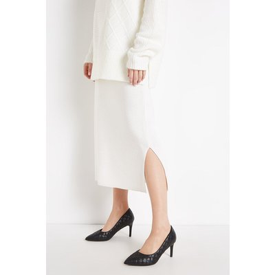 Daley Quilted Pointed Court Shoe