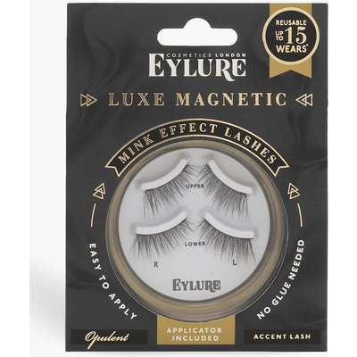 Womens Eylure Luxe Magnetic Accent Lashes - Opulent - black - One Size, Black