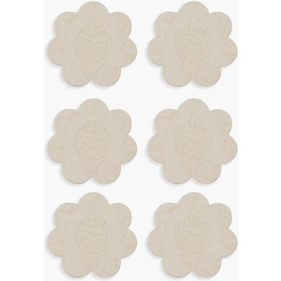 Womens Boohoo 3 Pack Lace Nipple Covers - Beige - One Size, Beige