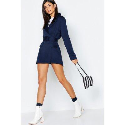 Womens Mono Stripe Beaded Bag - black - One Size, Black