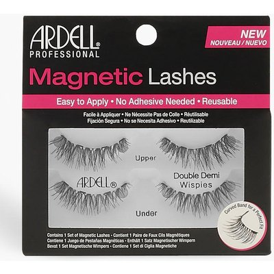 Womens Ardell Magnetic Lashes Double Demi Wispies - black - One Size, Black