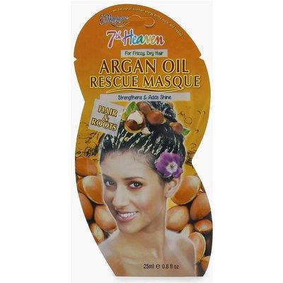 Womens Argan Oil Strength Hair Rescue Mask - white - One Size, White