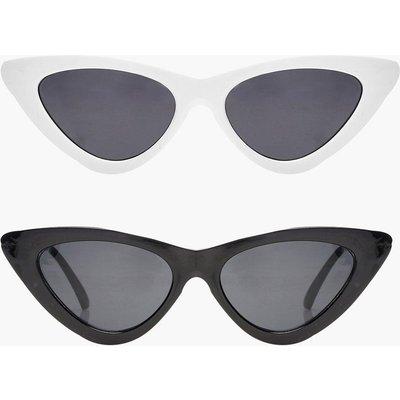 Womens Jessica 2 Pack Skinny Cat Eye Fashion Glasses - Multi - One Size, Multi