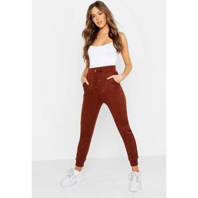 Womens Basic Sweatpant Joggers - Brown - 16, Brown