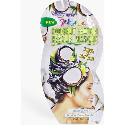 Womens Coconut Protein Hair Rescue Mask - white - One Size, White