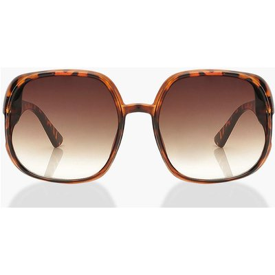 Womens Extreme Oversized Square Sunglasses - Multi - One Size, Multi