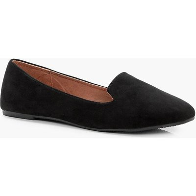 Womens Tab Top Slipper Ballets Immy - Black - 4, Black