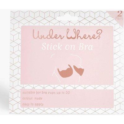 Womens Underwhere? Stick On Bra - white - One Size, White