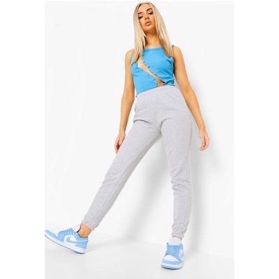 Womens Basic Joggers - Grey - 14, Grey