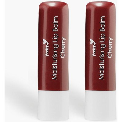 Womens Pretty Cherry Lip Balm - red - One Size, Red