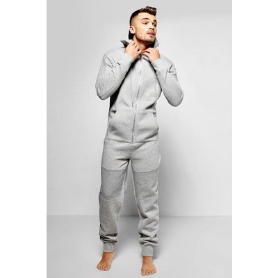 Detail Onesie - grey