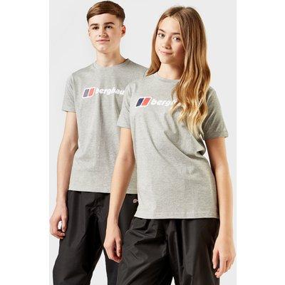 Berghaus Kid's Logo T-Shirt - Grey, Grey