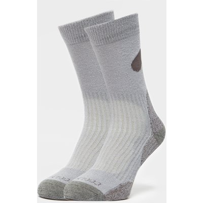Peter Storm Lightweight Outdoor Sock - 2 Pack - Grey, Grey