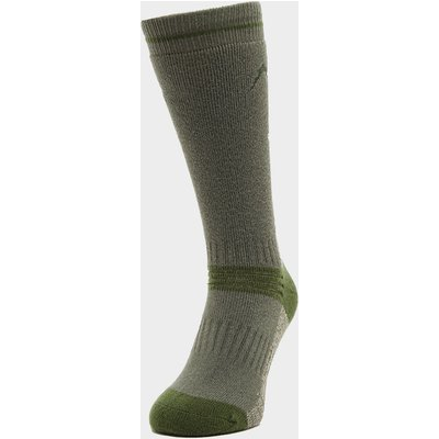 Peter Storm Heavyweight Outdoor Socks - Twin Pack - Green, Green