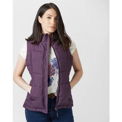 Peter Storm Women's Stella Gilet - Purple, Purple