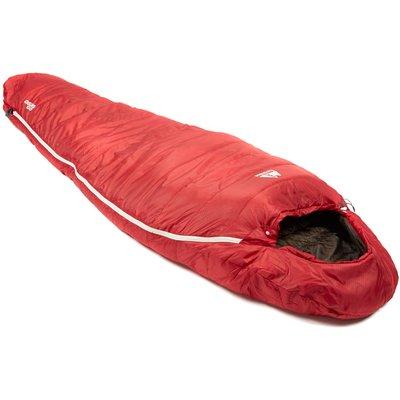 Eurohike Down 500 3 Season Mummy Sleeping Bag - Red, Red