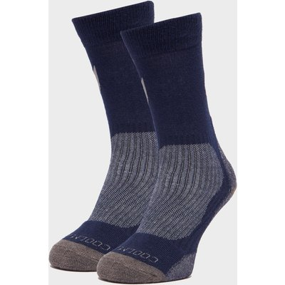 Peter Storm Lightweight Outdoor Socks - 2 Pack - Navy, Navy