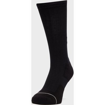 "Fox 8"" Trail Cushion Sock - Black, Black"