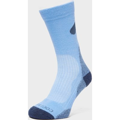Peter Storm Lightweight Outdoor Sock - 2 Pack - Blue, Blue