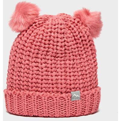 Peter Storm Girl's Double Pom Hat, Pink