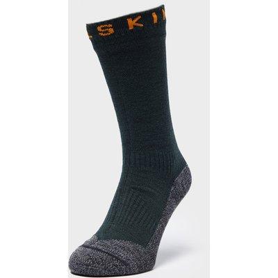 Sealskinz Soft Touch Mid Length Socks, Green