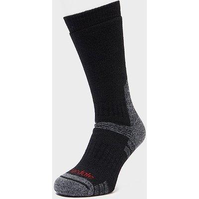 BRIDGEDALE Explorer Heavyweight Merino Endurance Boot Sock, BLACK