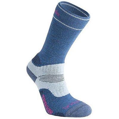 BRIDGEDALE WoolFusion Trekker Women's Socks, BLUE SKY