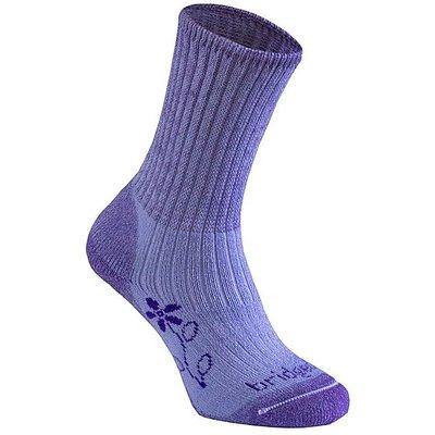 BRIDGEDALE MerinoFusion Trekker Women's Socks, VIOLET