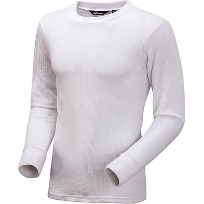 HI-GEAR Thermal Baselayer Long Sleeved Top (Unisex), WHITE