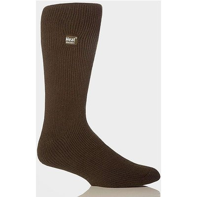 HEAT HOLDERS Men's Heat Holder Socks, FOREST GREEN