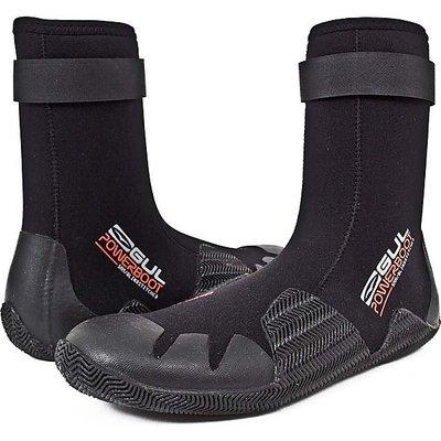 GUL Men's Round Toe 5mm Power Boot, BLACK-RED