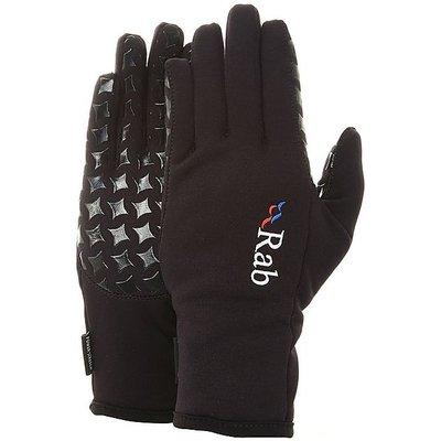 RAB Women's Powerstretch Grip Glove, BLACK