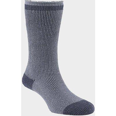GO OUTDOORS Women's Heat Trap Socks (2 pair pack), SMOKE