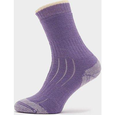 HI-GEAR Women's Merino Socks, LAVENDER