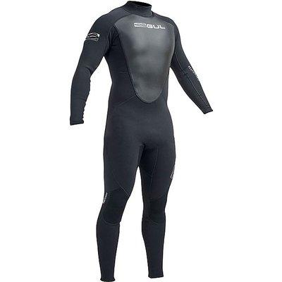 GUL Women's Response 3/2mm Flatlock Steamer Wetsuit, BLACK